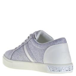 c8f92236264 Versace Jeans Sneakers Silver Glitter for Women