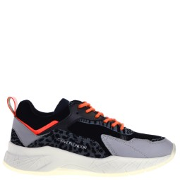 crime london dames sneakers grijs