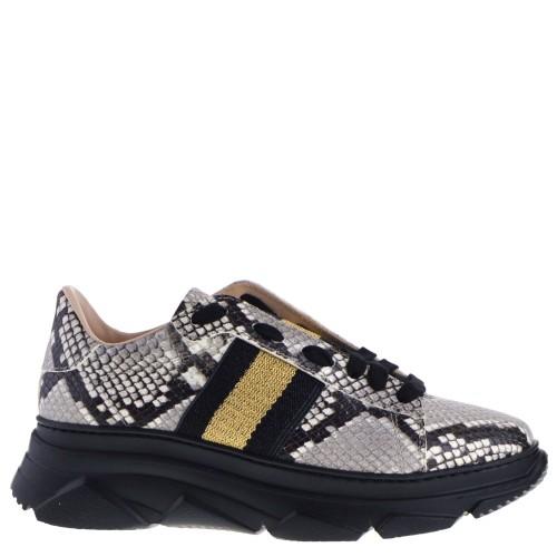 Stokton Sneakers Grey Snake print for Women