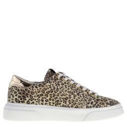 Hip dames sneakers beige panterprint