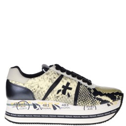Premiata Dames Sneakers in Naturel online kopen