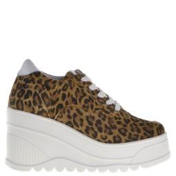 SPM leopard sleehak sneakers
