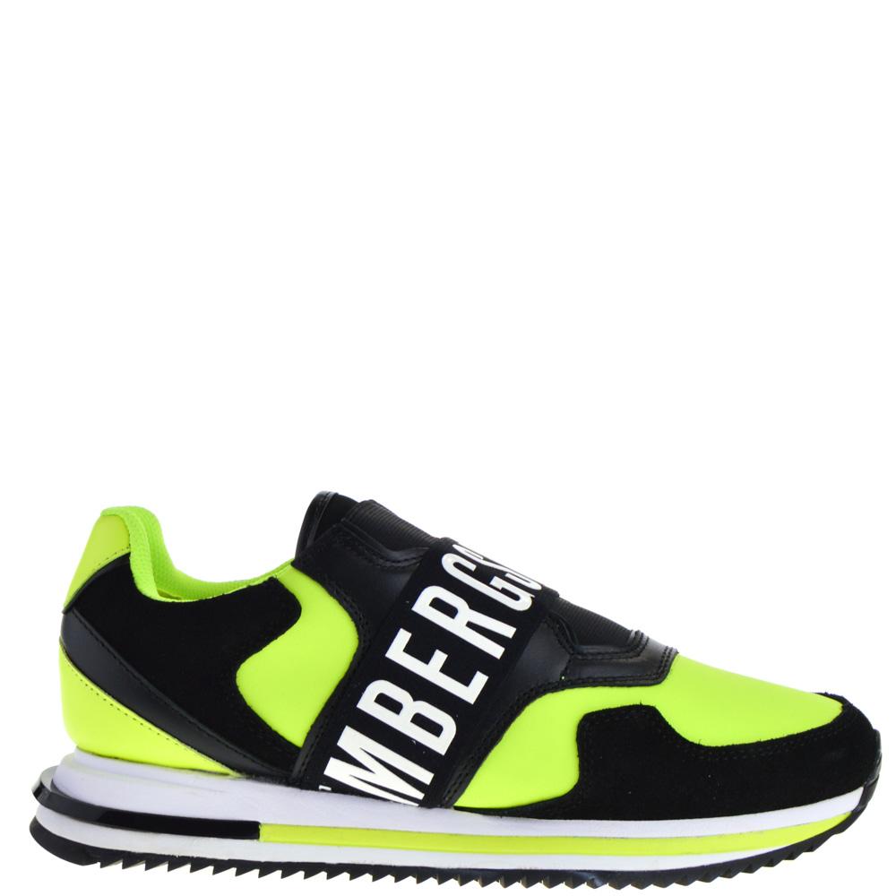 Bikkembergs Sneakers Black-Yellow for