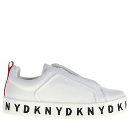 dkny dames sneakers wit
