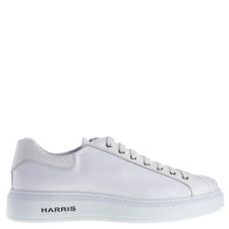 harris heren sneakers wit