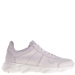 lloyd heren sneakers wit suede