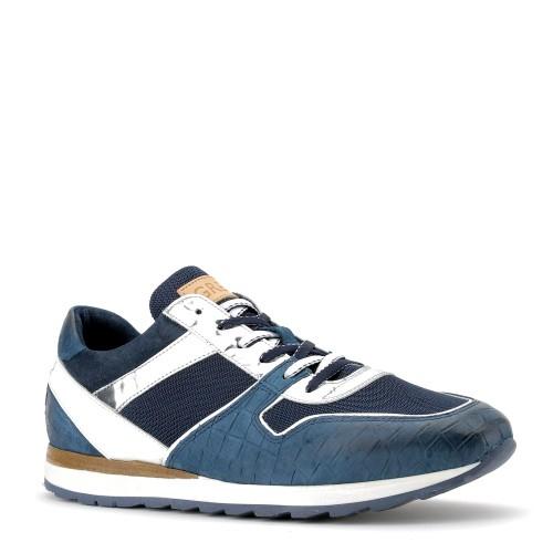 5c5441ca700 greve heren sneakers blauw combi 59 blauw combi. Direct leverbaar uit de  webshop van ...