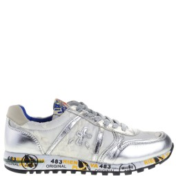 premiata will be kinder sneakers zilver-wit