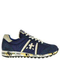 premiata will be kinder sneakers blauw